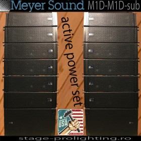 Meyer Sound M1D - M1D-sub, active System PA SET