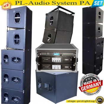 USED (as factory demo) PL-Audio PA System SET