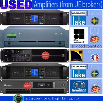 USED Amplifiers from UE brokers 2017