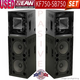 USED EAW KF-750F/SB-750F SET