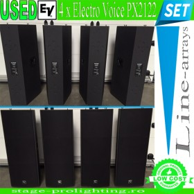 USED Electro Voice 4 x PX2122 Line-array SET