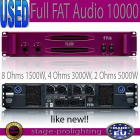 USED Full Fat Audio 10000, power amplifier