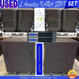 USED L Acoustics KARA SB118-LA8 SET