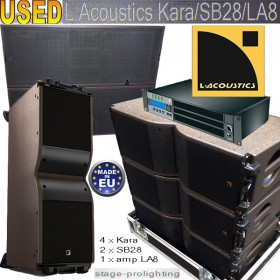 USED L Acoustics Kara-SB28-LA8 SET