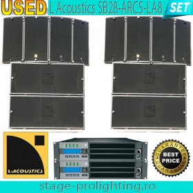 USEd L Acoustics SB28-ARCS-LA8 SET