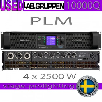 USED Lab.Gruppen PLM 10000Q, good condition