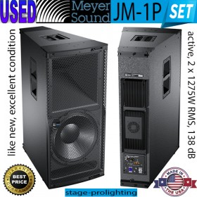 USED Meyer Sound JM-1P, active speakers SET
