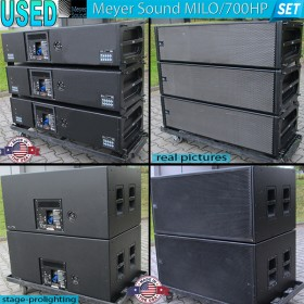 USED Meyer Sound MILO-700 HP configurabil SET