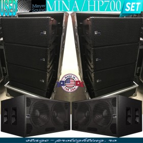 USED Meyer Sound MINA-HP700 active line-array SET
