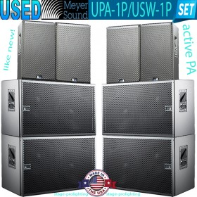 USED Meyer Sound UPA-1P-USW-1P active PA SET