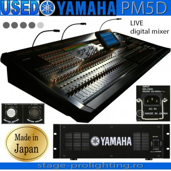 USED Yamaha PM5D, LIVE digital mixer