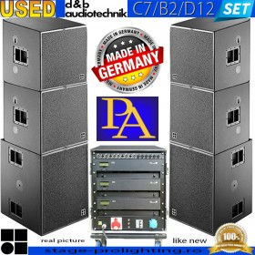 USED d&b Audiotechnik C7&-B2-D12 PA SET