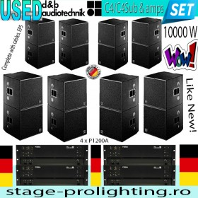 USED d&b Audiotechnik C4-C4Sub &Amps SET