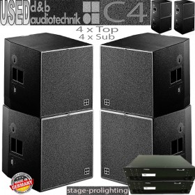 USED d&b C4 PA System SET