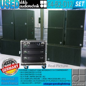 USED d&b audiotechnik C4-B2-D12 SET