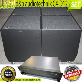 USED d&b audiotechnik C4-D12 SET 4
