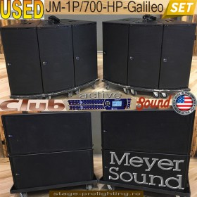 USEd Meyer Sound JM-1P-700-HP-Galileo SET