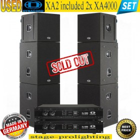 USED DYNACORD XA2 included 2x XA4000