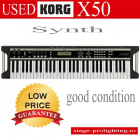 Used Korg X50 Synth