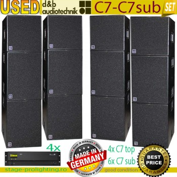 Used d&b audiotechnik C7-C7sub PA Set