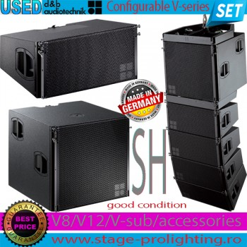 Used d&b audiotechnik configurable V series SET